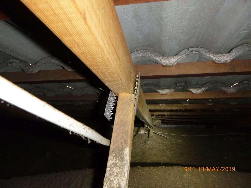 Truss Roof Major Defect