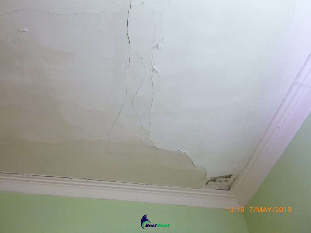 ceiling board sagging